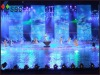Full color window decoration led display screen