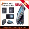 foldable leather case for ipad 3-B