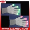 Flashing gloves,lights led gloves,flashing cotton gloves,promotional items