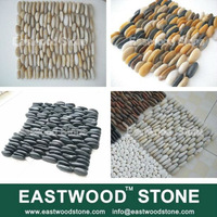 beach pebble stone tile