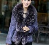wholesale lady fashion fur coat 2012