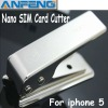 Nano SIM Cutter for iPhone 5 mobile phone