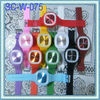 Silicon wrist watch for ladies