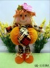 Harvest festival standing scarecrow plush toy