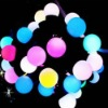 LED joy colorful ball string lights