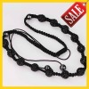 Woven Shamballa 13 pcs Beads Necklace Christmas Tresor Paris Black Crystal Bead Shamballa Handmade Bracelet & Necklace