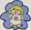 kids clothing embroidery patch