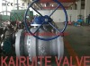 big sizes flanged cast steel ball valve
