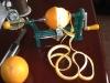 high quality manual cast iron orange peeler/fruit peeler(factory)