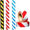 Red White PE Stripe Barricade Caution/Warning Tape