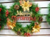 X'MAS decorative PVC garland