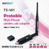 portable Ralink 3070 chipest 150Mbps speed 6 dBi Omni-directional Antenna wireless adapter for desktop /laptop