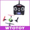 WLToys V929 Beetle 4CH RC 2.4Ghz quadCopter 4-axis UFO 3D Tumbling LCD Display RTF