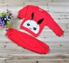2012 latest design girls Rabbit sets,Children wear T shirt+ pants two-piece suits