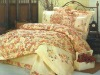 100%cotton bedding sets with reactive printing and embroidery