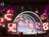 SBC dance led display panelled floor screen