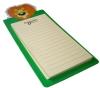 High quality printing writing pad with base
