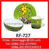 Round Porcelain Breakfast Set for Children for Tableware