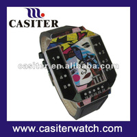 2012 fashion and funny binary led watch