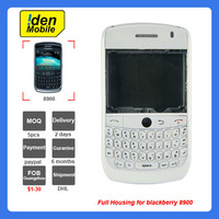 Hot selling brand new housing for blackberry 8900