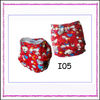 Cute Cat Pattern Minky Reusable Cloth Nappies For Baby With Pocket
