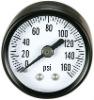 High pressure oil aseismatic gauge