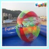 Hot sale Inflatable funny colorful water walking ball for sale (zorb-489)