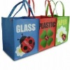 3 bag set for recycle and classification pp woven bag