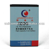OEM mobile phone battery for SAMSUNG x208