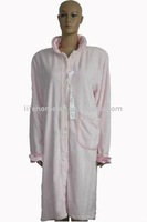Women's Outdoor Bathrobe with Buttons