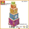 Dora wooden block toy confirm to ASTM EN71