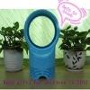 blue mini-bladeless fan with CE approval