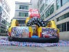 Car world inflatable combo game