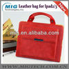 Fashional women hand bag leather for ipad 2 3