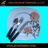 24pcs melamine gift dinner set tableware