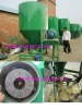 Poultry feed grinding and mixing machine