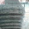 Black annealed welded mesh panel