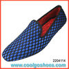 Fashionable knitted slip on velvet loafers with professional manufacturer