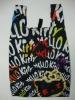 Environmental Portable Hello-Kitty Polyester Shopping Bag