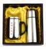 tea set, gift set, vacuum flask, gift set, flask gift set, promotional gift set