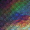 Metallized holographic Paper