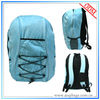 Latest design blue cheap canvas backpacks for teens
