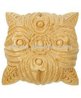 Hot sale decorative wood rosettes EFS-M-9026S