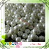 Fashion 14mm white glass pearl strands beads,High Imitation pearls beads