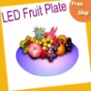 New Arrival--LED Fruit Plate - DC12v, With Adaptor (BH-LPD5802) with series clolors