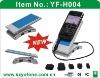usb mobile phone holder with 4 ports usb hub