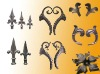 wrought iron parts/ cast iron parts