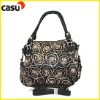 New Design fashion tote bag for woman,paillette and embroidery lady hand bag