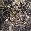 stretch polyester satin printed fabric