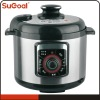 Black Pressure Cooker With Temperature Controller